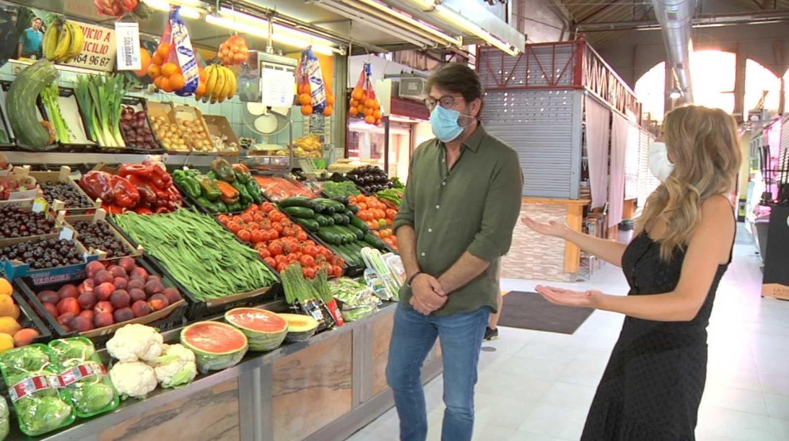 Aquí la Tierra - ¡Nos vamos de compras al mercado con Antonio Garrido!