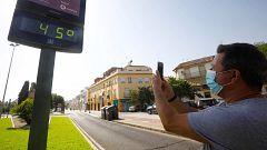 Este viernes continúan las temperaturas muy altas en gran parte de la Península y en Baleares