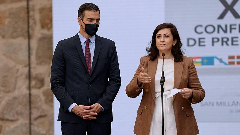 """Sánchez, en la conferencia de presidentes: """"No puede haber autonomías de primera ni de segunda"""""""