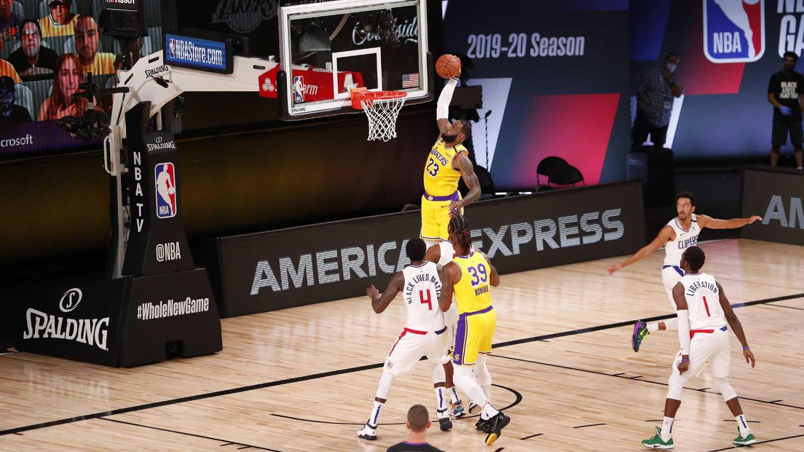 Vídeo: Lakers y Jazz arrancan con victoria en el regreso de la NBA en la burbuja de Orlando