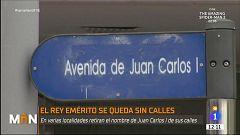 Calles que homenajean a Juan Carlos I que podrían desaparecer