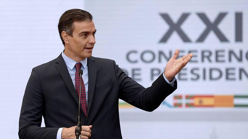 Sánchez anuncia que la recuperación se hará con unidad