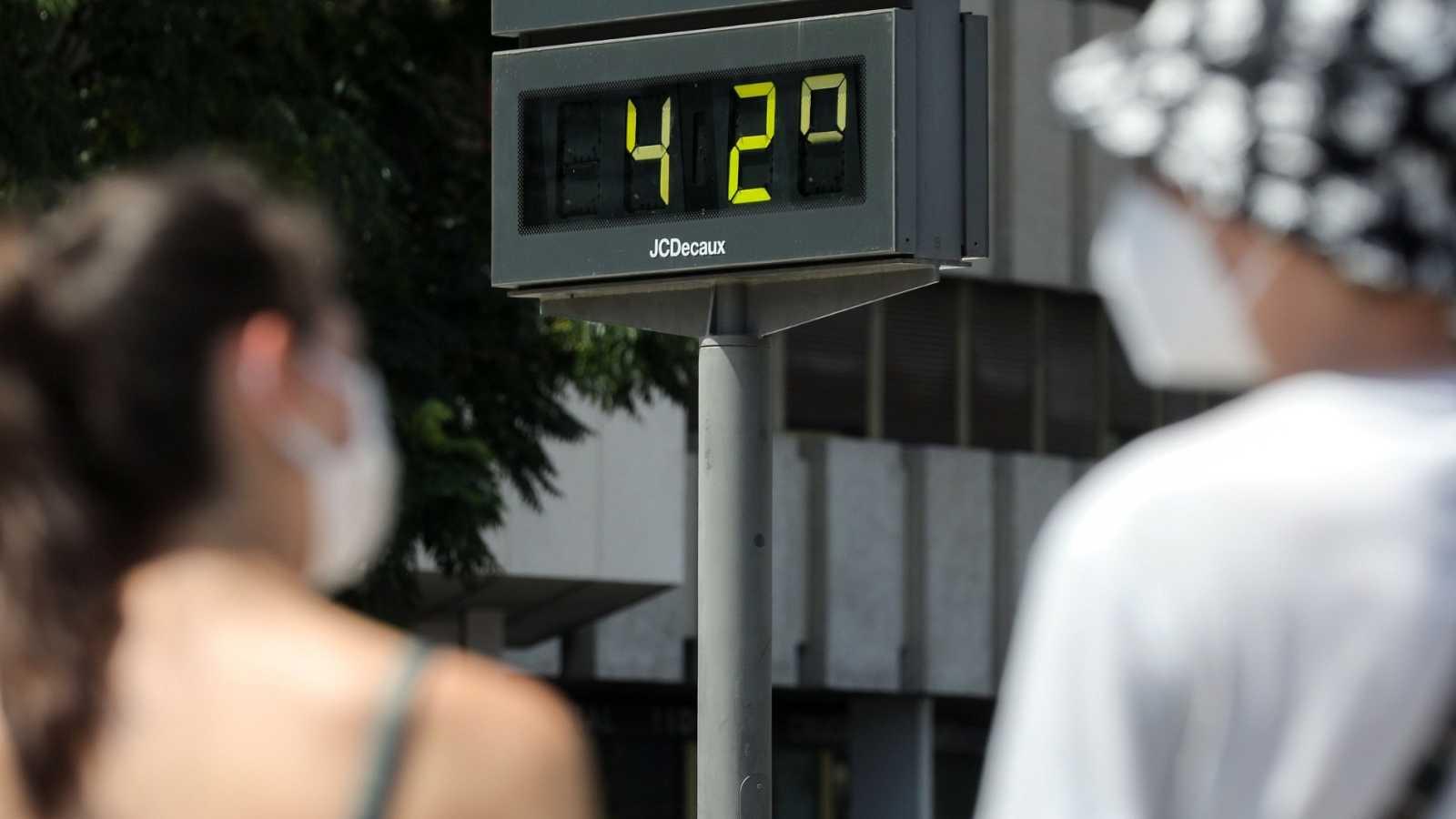 40 provincias siguen en alerta naranja o amarilla por las altas temperaturas