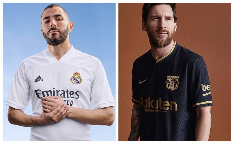 Madrid, Barça y Atleti presentan sus nuevas camisetas para la próxima temporada