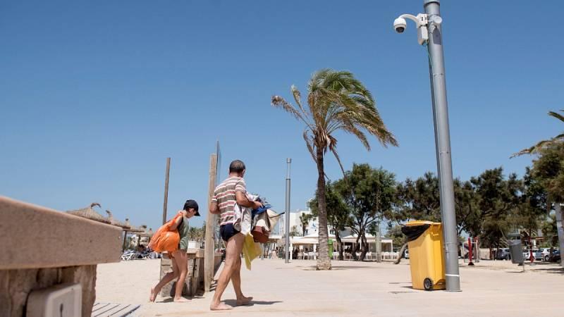 Continúan las altas temperaturas en la Península y Baleares