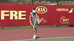 Tenis - Liga Mapfre de tenis femenino. 1ª Semifinal. Desde Les Franqueses del Vallés (Barcelona)