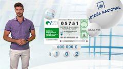 Lotería Nacional - 01/08/20