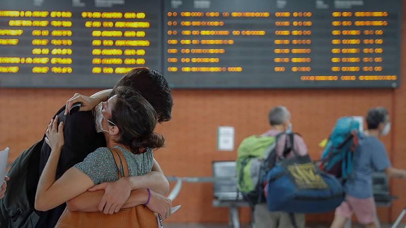 El mes de agosto de 2020, el último de los agostos atípicos que han vivido los españoles