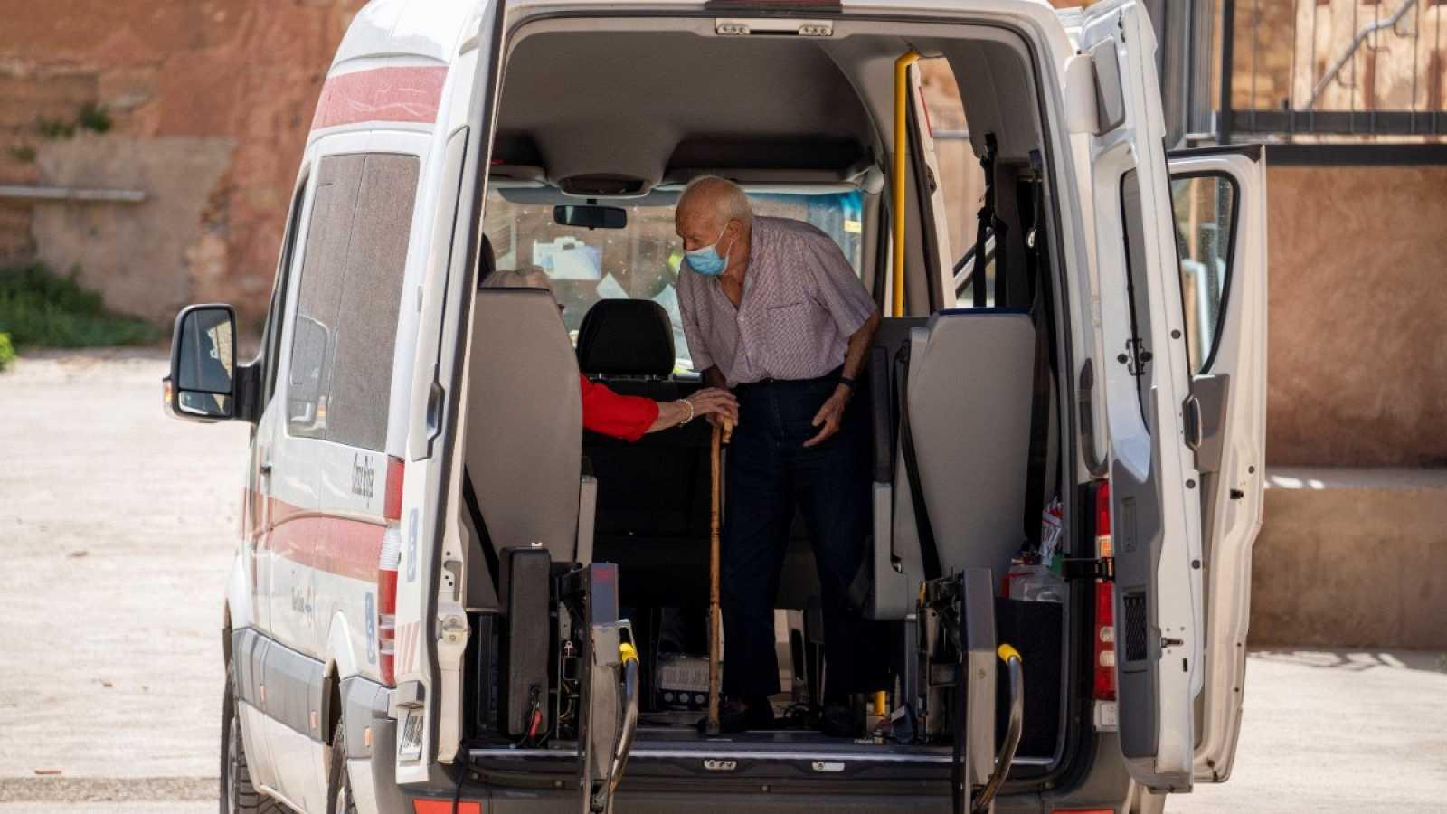 La residencia turolense de Burbáguena suma 63 residentes positivos y cuatro muertes