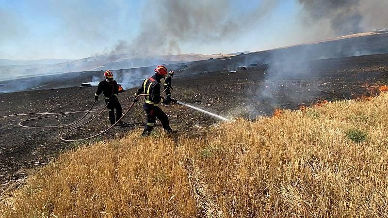 Controlado el incendio entre Guadalajara y Madrid
