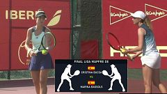 Tenis - Liga Mapfre de tenis femenino. Final. Desde Les Franqueses del Vallés (Barcelona)