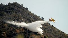 Estabilizado el incendio de Robledo de Chavela, en Madrid, tras quemar 800 hectáreas