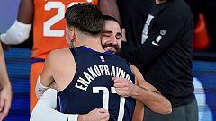 Ricky Rubio le gana la partida a Luka Doncic en el duelo de bases del Suns - Mavericks