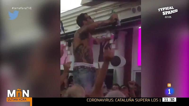 """Javier Frutos (Asociación de Hosteleros de Málaga), sobre el DJ que escupió al público: """"Que esto sirva para que no se vuelva a repetir nunca"""""""