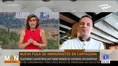 """Pablo Pérez, portavoz de la JUPOL, ante el aumento de llegada de pateras a las costas españolas: """"Nos vemos sobrepasados"""""""