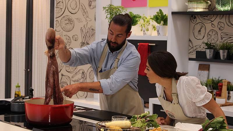 Cocina al punto con Peña y Tamara - El pulpo - ver ahora