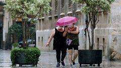 Precipitaciones localmente fuertes en el este de Cataluña