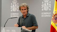 Especial informativo - Coronavirus. Comparecencia de Fernando Simón - 03/08/20