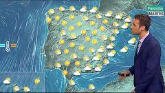 Tiempo estable menos en el este y sur peninsular donde se esperan precipitaciones