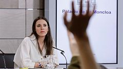 """Irene Montero: """"La huida de Juan Carlos de Borbón es una actitud indigna viniendo de un jefe del Estado"""""""