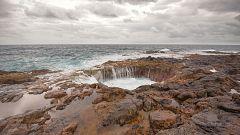 Intervalos de viento fuerte en el Ampurdán y Canarias