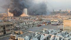 Una gran explosión en el puerto de Beirut sacude toda la capital libanesa