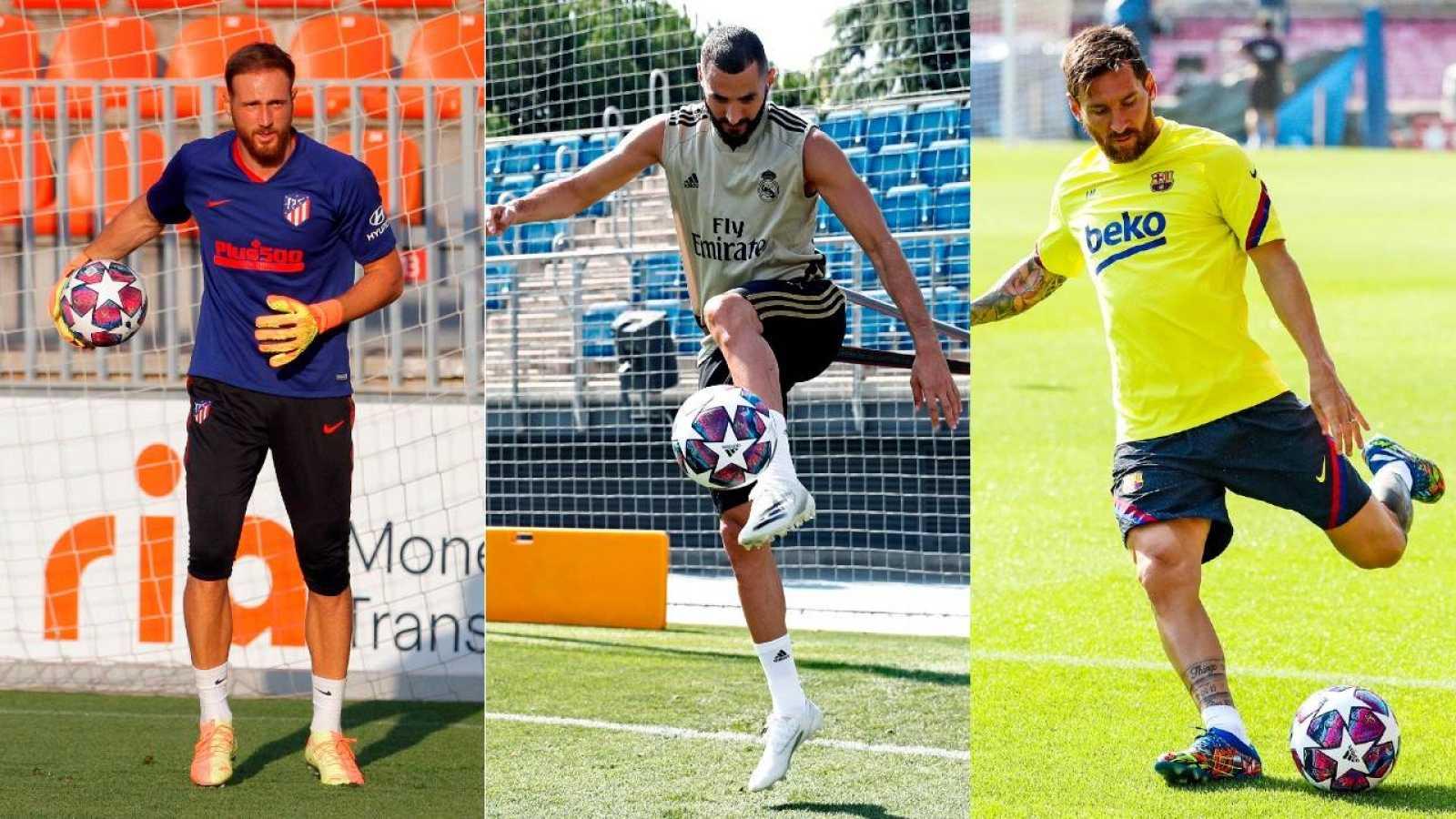 Manolo Sanchís, Julio Salinas y Milinko Pantic analizan los efectos del parón pre-Champions para