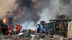 """Daniel Giménez, español residente en Beirut: """"Han notado la explosión incluso en Chipre"""""""