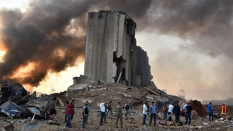 La explosión de un almacén en Beirut deja miles de heridos