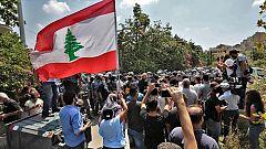 El Líbano: crisis económica sin precedentes y protestas contra la corrupción del gobierno