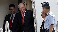 ¿Dónde está el rey Juan Carlos?