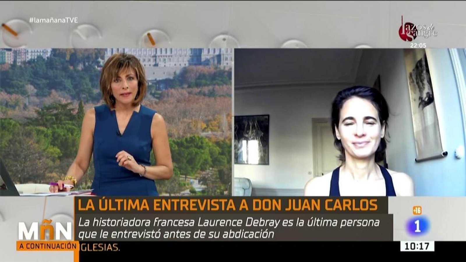 Laurence Debray, la última persona que entrevistó a Juan Carlos