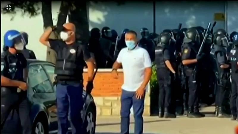 Varios temporeros confinados en Albacete por un brote de coronavirus se escapan y exigen poner fin a su cuarentena