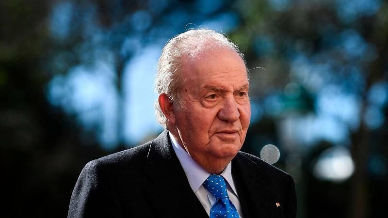Juan Carlos I pasó sus últimas horas en España en la localidad gallega de Sanxenxo