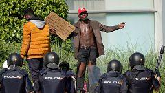 Tensión en Albacete tras la fuga de varios temporeros confinados