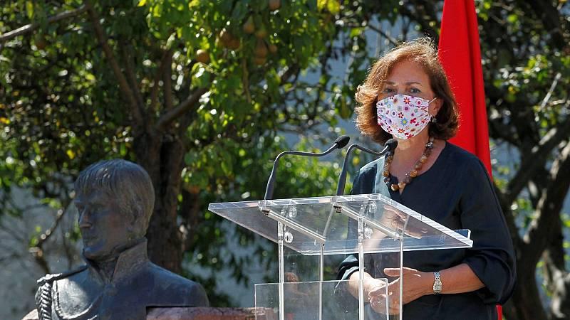 Calvo defiende la decisión del rey emérito frente a las críticas de Unidas Podemos