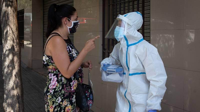 Test PCR a domicilio en Cataluña para combatir al coronavirus