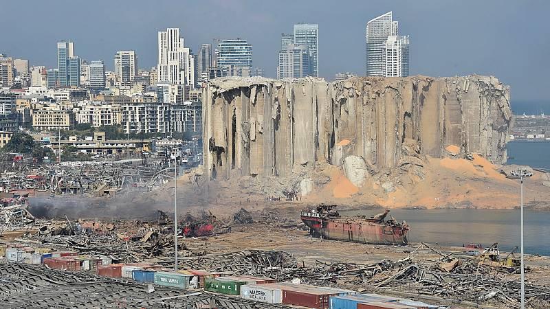 Beirut, una capital devastada por la explosión
