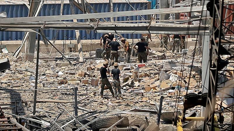Una unidad canina española viaja a Beirut para localizar supervivientes