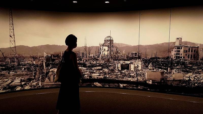 Japón recuerda el 75 aniversario de las bombas atómicas que devastaron Hiroshima y Nagasaki