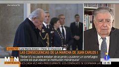 """Luis María Ansón, presidente de 'El Imparcial': """"Creo que la cuestiones judiciales de Juan Carlos I tienen poco recorrido"""""""
