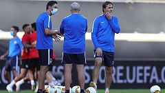 Sevilla y Roma se miden en los octavos de final de la Europa League