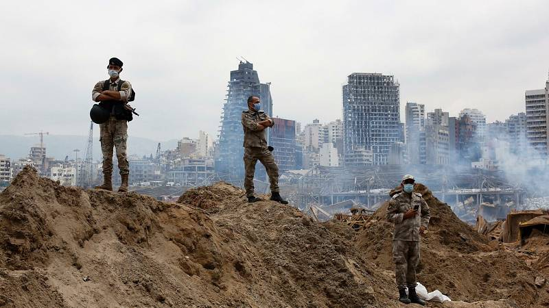 Crisis económica, coronavirus y la explosión: la tragedia azota a Líbano