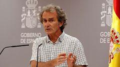 Especial informativo - Coronavirus. Comparecencia de Fernando Simón - 06/08/20
