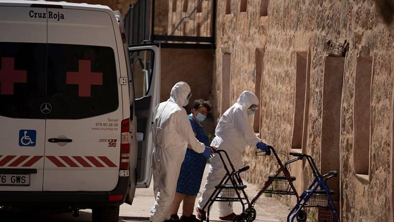 Los hospitales de Aragón multiplican por diez los ingresos