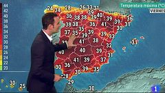 Intenso calor en gran parte del interior peninsular