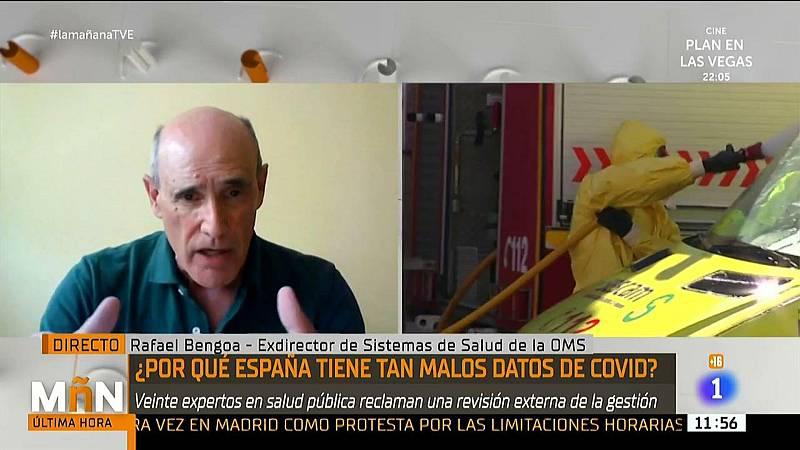 """Rafael Bengoa, exasesor de Obama: """"Pretendemos evitar la politización"""""""
