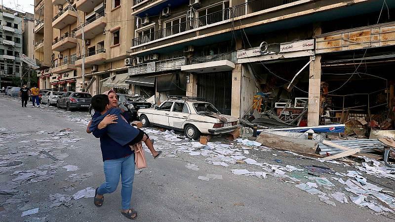 La explosión en Beirut reaviva las protestas contra el Gobierno libanés