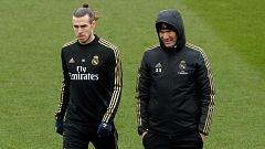 La prensa británica apunta a un enfrentamiento Bale-Zidane ante la ausencia del galés en Manchester