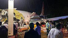 Al menos diez fallecidos en un accidente aéreo en el aeropuerto de Calcuta